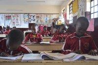 Dzieci z Afryki w szkole